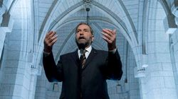 Mulcair Takes Aim At Harper,