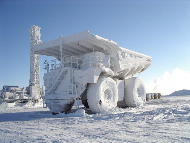 Alberta Oilsands In Winter: Amazing Pictures From Alberta's North