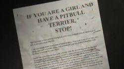 Creepy Notes Along Trail Raise Alarm