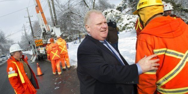Rob Ford Refused Advice To Declare Ice Storm An