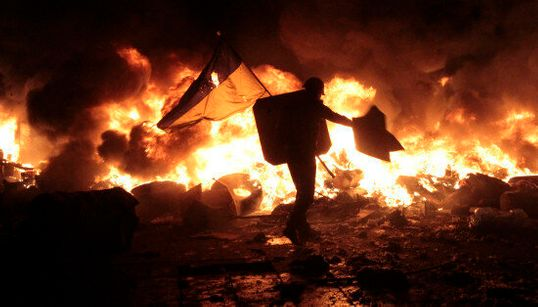 Photos From Kiev Are Out Of A Dystopian