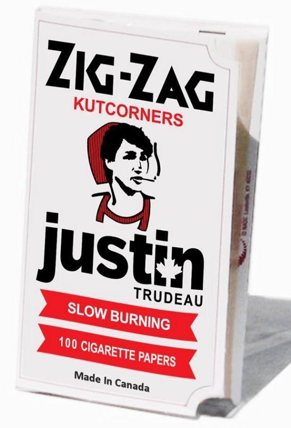 Yes, Justin Trudeau Rolling Papers Actually