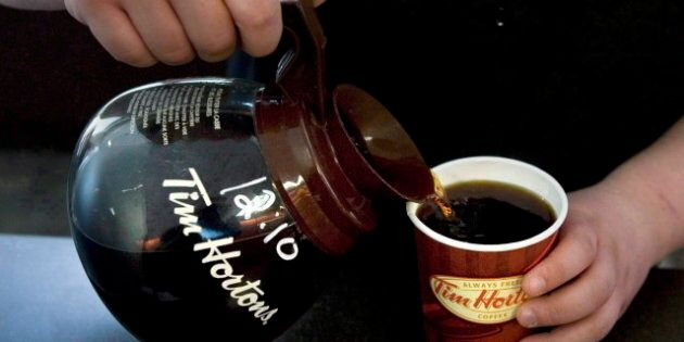 Tim Hortons Customers In Toronto Get $200 Of Free Coffee From