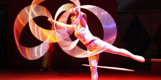 Circus Debuts In Baghdad For First Time Since Start Of