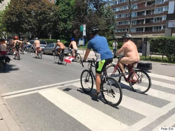 World Naked Bike Ride Day Continues Its