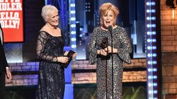 Bette Midler Was Not About To Let The Tonys Play Her Off