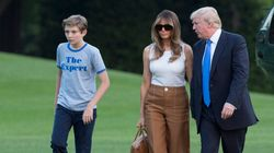 Melania And Barron Trump Have Finally Moved Into The White