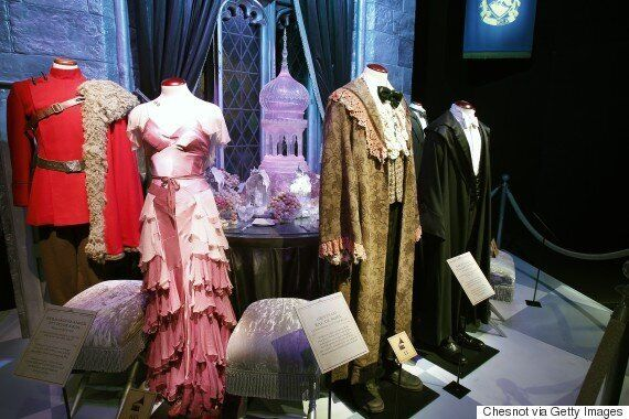 Harry Potter Costume Designer Explains Her Inspirations Huffpost Canada Yule ball gown, ron's frilly dress robe, and the beauxbaton and durmstrang uniforms. harry potter costume designer explains