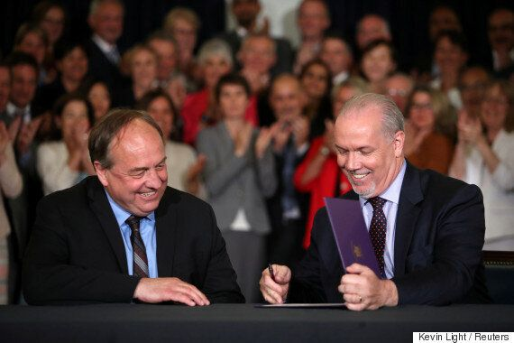 B.C.'s NDP-Green Alliance Promises To Support Clean