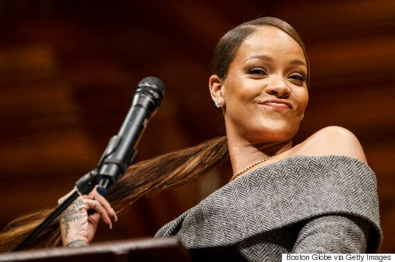 Rihanna Teaches Kids In Malawi Math While Advocating For More Education