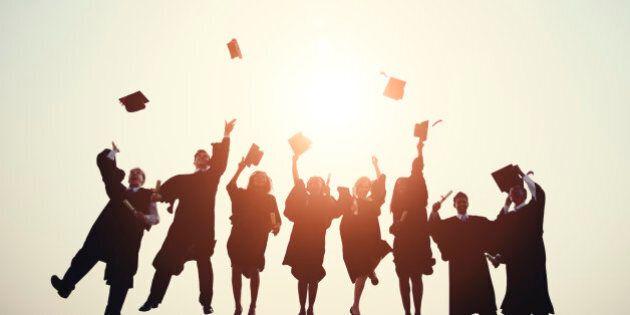 Graduation College School Degree Successful Concept