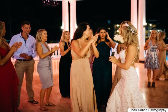 This Awesome Bride Planned Her Best Friend's Proposal At Her Own