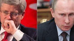 Harper: Crimea Under 'Illegal Military