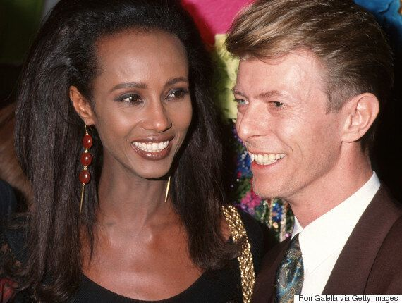 Iman Honours Late Husband David Bowie On What Would Have Been Their 25th Wedding