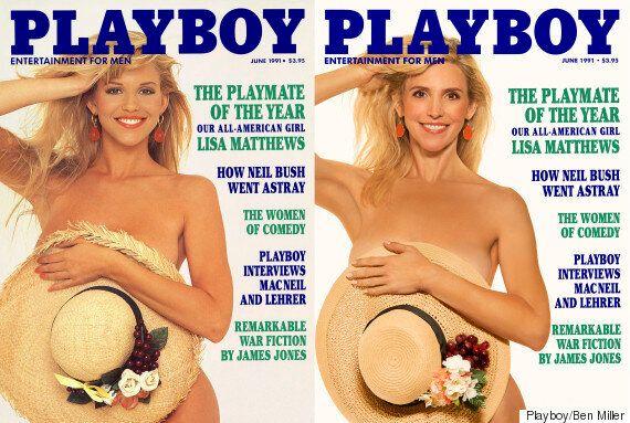 Former Playboy Cover Models Recreate Their Photos, And It Is