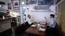 Here's What An Obama-Trudeau Dinner Date Looks