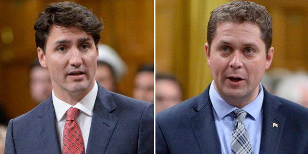 Andrew Scheer, Trudeau Trade Zingers Over PM's Talk Show