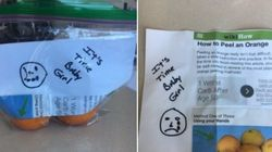 Unpeeled Oranges Help Dad Commemorate Daughter's Last Day Of