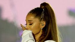 Tearful Ariana Grande Sings 'Somewhere Over The
