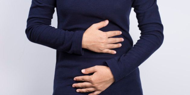 Health Care: Woman has stomach