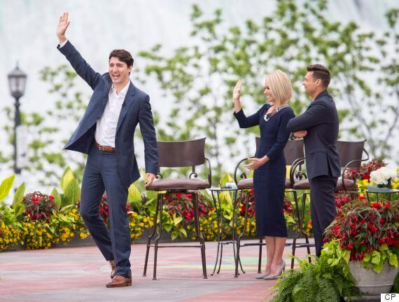 Trudeau Tells 'Live With Kelly and Ryan' He Disagrees With Trump On