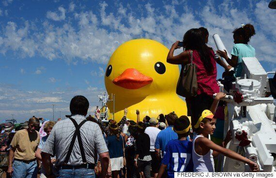 Ontario Gov't Overpaying For Giant Counterfeit Of My Rubber Duck: