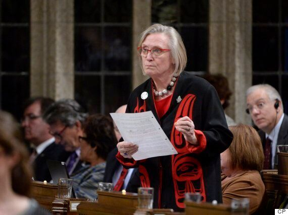 Carolyn Bennett Stares Down MP Heckling Over MMIW Inquiry
