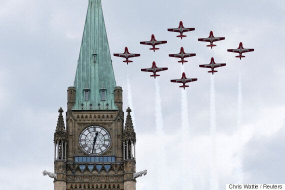 Canada's Snowbirds Are Part Of A Massive Military Cultural