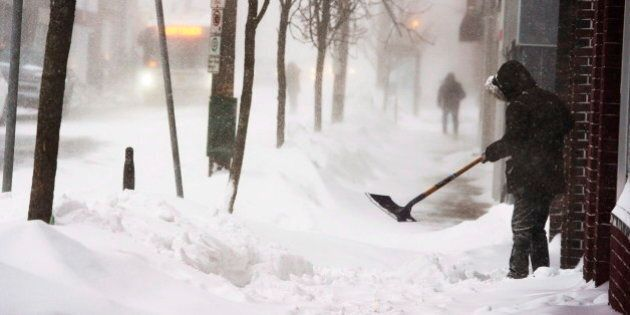 Maritimers Digging Out After Blizzard Rocks