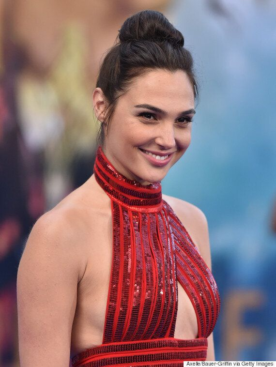Gal Gadot And Lynda Carter Bring The Heat To The 'Wonder Woman' Red