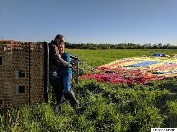 Hot Air Balloon Crashes After Man Proposes To Girlfriend In