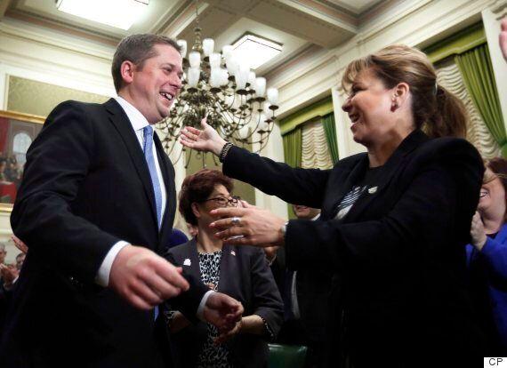 Andrew Scheer Basks In Hero's Welcome, Calls On Tories To