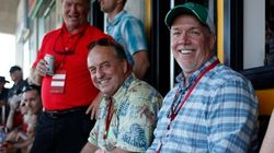 Just 2 B.C. Party Leaders At A Game — Nothing To See Here, Christy