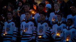 Hockey Mom Vigil Draws