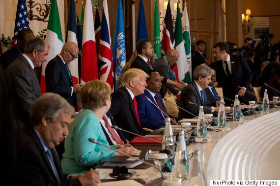 G7 Summit Ends Without Agreement On Climate Change, As Trump Remains A