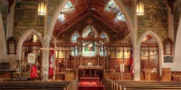 St. Jude's Anglican Church In Brantford, Ont. Listed For Sale For