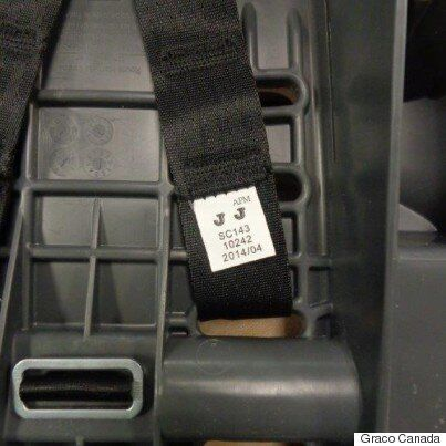 Graco Car Seats Recalled In Canada Due To Harness Webbing