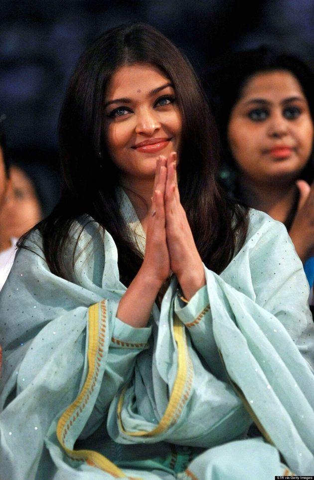 Aishwarya Rai Plays Up Her Eyes In Stunning Green