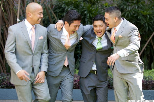 The Cost Of Being A Groomsman Might Shock