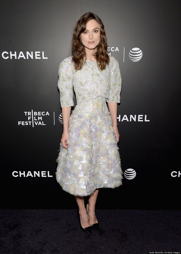 Keira Knightley's New Signature Style Is Kind Of