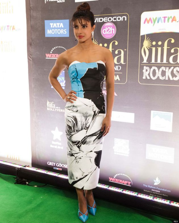Priyanka Chopra Stuns In Two Hot Looks At The 2014 IIFA