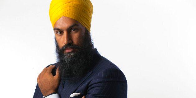 TORONTO, ON - AUGUST 11: Jagmeet Singh, Deputy Leader for the Ontario NDP. Aparita Bhandari is bringing...