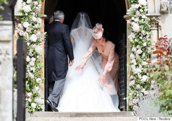 Pippa Middleton's Wedding Dress By Giles Deacon Did Not