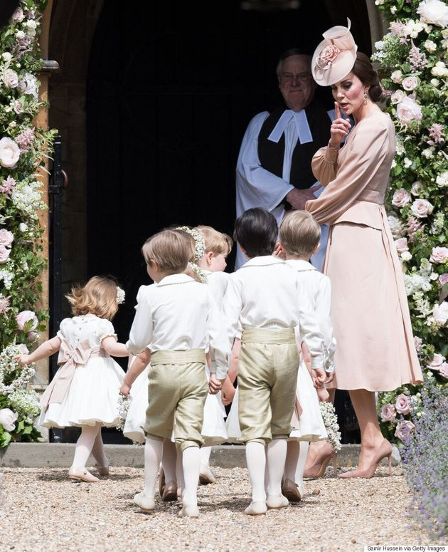 Prince George And Princess Charlotte Look Adorable At Pippa Middleton's