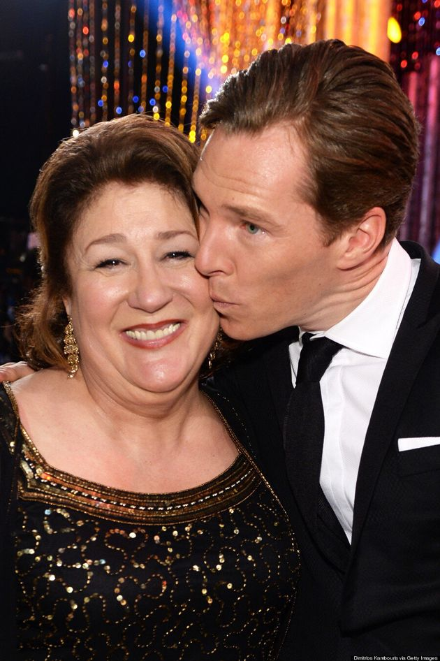 Benedict Cumberbatch Was The King Of The SAG Awards 2014