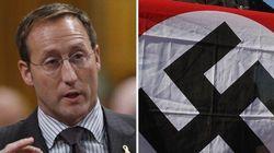 MacKay Not Laughing At Nazi