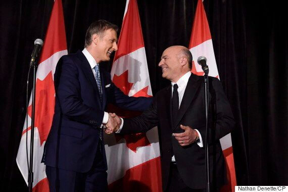 Maxime Bernier Wants Kevin O'Leary To Advise Him As Tory Leader, Run In
