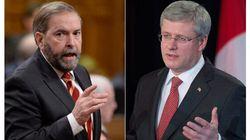 Harper Asks Mulcair For Advice On