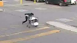 WATCH: Ontario Police Seek 'Clumsy' Walmart