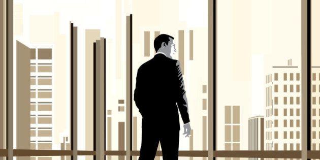 USA - 2011: Jennifer Pritchard illustration of 'Mad Men' character Don Draper. (MCT via Getty